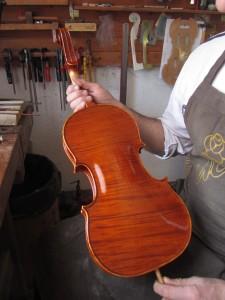 Dimitrov Master Violin copy Antonio Stradivari 1719