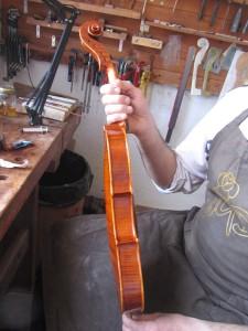 violin profil